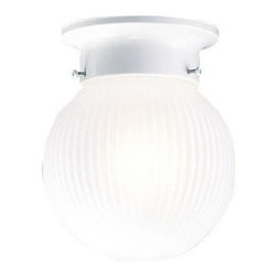 Livex Lighting - Livex Ceiling Mount Ceiling Mount White -6057-03 - Livex products are highly detailed and meticulously finished by some of the best craftsmen in the business