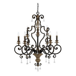Quoizel Lighting - Quoizel MQ5009HL Marquette Heirloom 9 Light Chandelier - 9, 60W B10 Candelabra