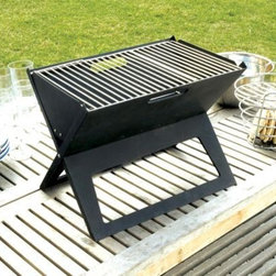 HotSpot Notebook Charcoal Grill - Well traveled Living makes grilling easy with the HotSpot Notebook Charcoal Grill!