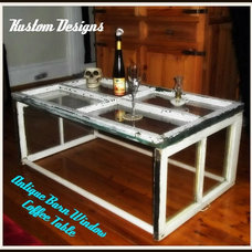 Eclectic Coffee Tables by Kustom Designs