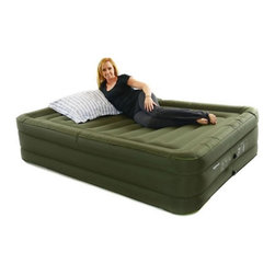 Smart Air Beds - Smart Air Beds BD-3324FCB Ultra Tough Raised Air Bed with Rechargeable Pump - Qu - Shop for Air Mattresses from Hayneedle.com! Smart and simple the Smart Air Beds BD-3324FCB Ultra Tough Raised Air Bed with Rechargeable Pump - Queen is a breeze to inflate and deflate and is a snap to store. The perfect way to accommodate overnight guests comfortably. This inflatable air mattress stands tall for the feel of a traditional bed and is made of thick PVC to stay inflated. It includes a rechargeable pump making it perfect for a weekend off the grid and includes a bag for easy transport and storage.About Electric Auctions Inc.Electric Auctions is based in California. They began selling refurbished AeroBeds and other products in the late 1990s. Through their years of experience they gained deep knowledge of air beds. In 2007 Electric Auctions decided to create Air Bed Warehouse to focus solely on air beds and inflatable furniture. They offer the highest-quality inflatable furniture at affordable prices.