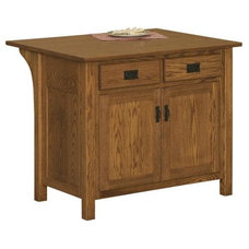 Craftsman Kitchen Islands And Kitchen Carts by DutchCrafters Amish Furniture