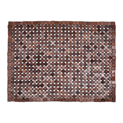 Entryways - Muir Exotic Wood Mat - Dark Brown 18x30 - Crafted of exotic wood, this handsome mat will add an elegant touch to any home. It is from Entryways Exotic Woods collection and meets the industry's highest standards. This design combines natural beauty and durability with surprising affordability.