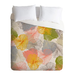 DENY Designs - Khristian A Howell Bryant Park 6 Duvet Cover - Turn your basic, boring down comforter into the super stylish focal point of your bedroom. Our Luxe Duvet is made from a heavy-weight luxurious woven polyester with a 50% cotton/50% polyester cream bottom. It also includes a hidden zipper with interior corner ties to secure your comforter. it's comfy, fade-resistant, and custom printed for each and every customer.