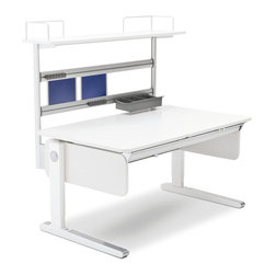 Moll - Champion Kids Desk Flex Deck Extension - A profitable organization in the making: This flex deck extension adds an extra shelf, storage and a media box to help your child maximize their time at their desk. Of course, it also offers a magnetic board to promote the appropriate, and highly personal, fun stuff.