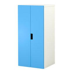 Ebba Strandmark/IKEA of Sweden - STUVA Storage combination with doors - Storage combination with doors, white, blue