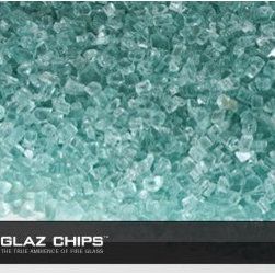 1/4 Inch Blue Green Fireglass (10lbs) - Today's contemporary designers suggest the use of fireglass rather than ceramic logs or lava rocks. Blue green fireglass is one of the most popular choices.