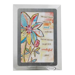 Westland - 4 x 6 Inch Colorful Flowers Wonderful Place Musical Photo Frame - This gorgeous 4 x 6 Inch Colorful Flowers Wonderful Place Musical Photo Frame  has the finest details and highest quality you will find anywhere! 4 x 6 Inch Colorful Flowers Wonderful Place Musical Photo Frame  is truly remarkable.
