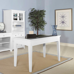 WorkSpace and Home Office | Smart Furniture - The Kentwood Writing Desk is simple with just the right amount of coastal details.