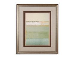Bassett Mirror - Bassett Mirror Framed Under Glass Art, Noon II - Noon II