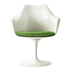 Saarinen Tulip Armchair - Royal Hide