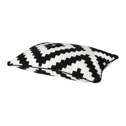 Lappljung Ruta Cushion Cover - I blinked and this one flew off the shelves. Ikea is having a stock issue because this inexpensive pillow is so popular.