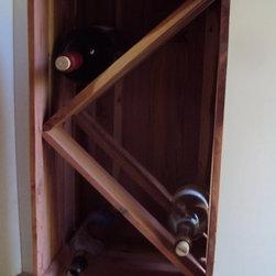 Wine caddies, Bottle storage -