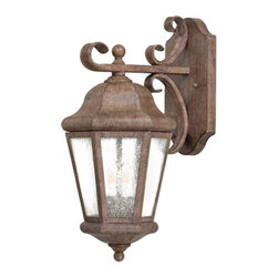 The Great Outdoors - The Great Outdoors GO 8612 2 Light Outdoor Wall Sconce from the Taylor Court Col - Two Light Outdoor Wall Sconce from the Taylor Court CollectionFeatures: