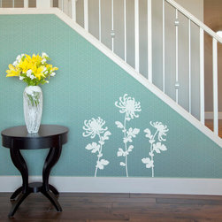 Blooming Dandelion Flower Vinyl Wall Decal - Gardening just got easier! Decorate your walls with the Blooming Dandelion Flower Vinyl Wall Decal from Wallternatives for a nature inspired home decor and colorful wall design.