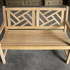 """120cm/48"""" Middleton Teak Bench"""