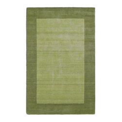 Kaleen - Regency Collection Celery 8' X 10' Rug - Regency offers an array of beautiful and elegantly subtle tones for today's casual lifestyles. Choose from rich timeless hues shaded with evidence of light brush strokes. These 100% Virgin Wool, hand loomed rugs are sure to add comfort and warmth to any setting. Each rug is hand crafted in India.