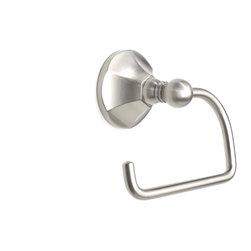 Century Hardware - Vera – Tissue Holder, Satin Nickel - SKU: 81430-15