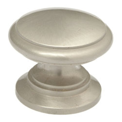 Q.M.I. - Ringed Knob (Set of 10) - Includes mounting screws. Decorative. Easy to install. Limited lifetime warranty. Made from solid stainless steel. 1.25 in. Dia. x 1 in. HAdd the finishing touches to your new vanity or cabinets or instantly update the look of your room with this hardware. Our cabinet knobs beautifully compliment any homes decor.