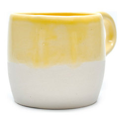 Yellow Dipped Mug - I like a big, clunky mug like this one to drink coffee or chai tea out of. This hint of yellow is a great way to brighten the start of my morning.