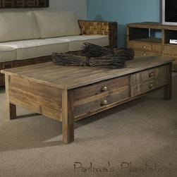 Padma's Plantation Salvaged Wood Coffee Table - Padma's Plantation Salvaged Wood Coffee Table