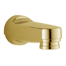Delta - Delta RP17454PB Delta Tub Spout - Pull-Down Diverter (Brilliance Polished Brass) - With its large assortment of accessories and styles, the Delta series is sure to have the perfect combination of products for any application.