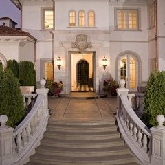 mediterranean exterior by John Kraemer &amp; Sons