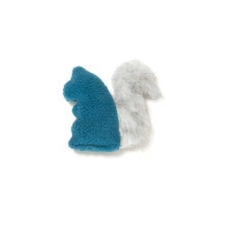 West Paw Design - Sequoia Squirrel Dog Toy, Blue Spruce - A little squirrelly, perhaps, but tough as nails. Don't let the cute façade fool you; this dog toy is made of stronger stuff than your average pretty plaything.