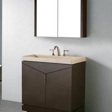 Contemporary Bathroom Vanities And Sink Consoles by Bathroom Trends