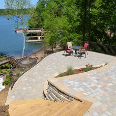 Modern Patio by TG&R Landscape Group
