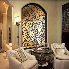 Front Doors by Elegante Iron, Inc.