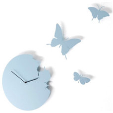 contemporary clocks by Heal's