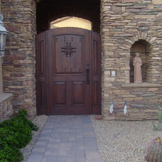Traditional Windows And Doors by Rustic Decor Store