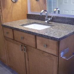 Shop eclectic bathroom vanities on houzz Bathroom remodeling akron ohio