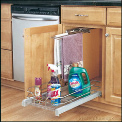 182_1_.jpg - Do you struggle to reach all your cleaning products under your sink? Contact Kitchen Tune-Up about adding a roll-out tray under your sink to help with those hard to reach items!