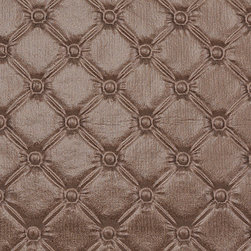 Bijou Coverings - Luxury Faux Leather Upholstery Fabric Sold By The Yard, Talisa 02 - This luxury faux leather material is great for all indoor upholstery applications including residential and commercial. This pattern is uniquely made to combine luxury with durability. This fabric will add an exotic touch to upholstered items such as sofas, chairs, seat cushions (decorative pillows), ottomans and headboards. To clean please use mild soap and water. Do not use alcohol based cleaning agents. Minimum purchase is 1 yard.
