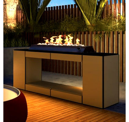 Contemporary Fire Pits by The Deck Store Online