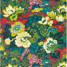 Asian Fabric by Covered In Style Inc