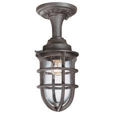 Modern Outdoor Flush-mount Ceiling Lighting by 1800Lighting