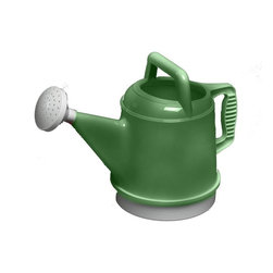 Bloem - Bloem 2.5 Gallon Deluxe Watering Can Gre-Fresh DWC228, 6 pack - Easy to handle and grip