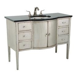 Ambella Home - Ambella Home Large Sink Chest White - Item #: AH-496