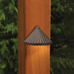 Kichler Lighting - Kichler Lighting 15468AZT Landscape 12v 1 Light Deck/Step Lighting in Textured A - Deck light 12V