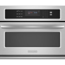 "Contemporary Microwave Ovens KitchenAid Built-In Convection Microwave | 30"" Width"