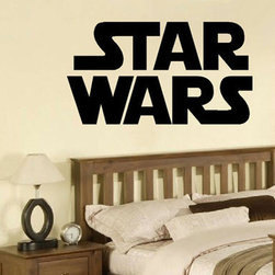 ColorfulHall Co., LTD - Personalized Wall Decals Diy Star Wars Words Alphabet - Personalized Wall Decals DIY Star Wars Words Alphabet