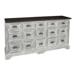 Aidan Gray - Thomas James Sideboard - Color/Finish multi layered finish