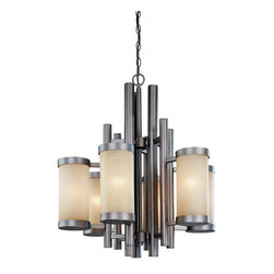 Dolan Designs - Dolan Designs 2620-66 Cartona Vista 6 Light Chandelier - Dolan Designs 2620-66 Cartona Vista 6 Light Chandelier