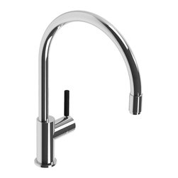 Lefroy Brooks - XO Lever Kitchen Faucet & Hose, Polished Chrome - Known as the Rolls Royce of plumbing fixtures, Lefroy Brooks collections historically reference design aesthetics from turn of the century classics to today's minimalism. For over 25 years, Lefroy Brooks is known as the most recognized luxury-plumbing brand among the world's wealthiest consumers.