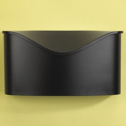 Umbra - Postino Mailbox by Umbra - The Umbra Postino Mailbox designed by Matt Carr is the ultimate modern mailbox. The Postino Mailbox is a wall mounted stainless steel mailbox with hinged lid. Umbra, headquartered in Toronto, Canada, designs and manufactures exciting, affordable products that add contemporary and artful details to every room in the home.