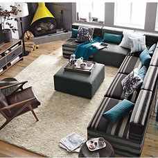 Contemporary Sectional Sofas by Crate&Barrel