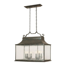 World Imports - Revere 6-Light Island Light, Flemish - Flemish finish